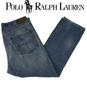 Polo Ralph Lauren Men's Cortlandt Blue Jeans 40x32